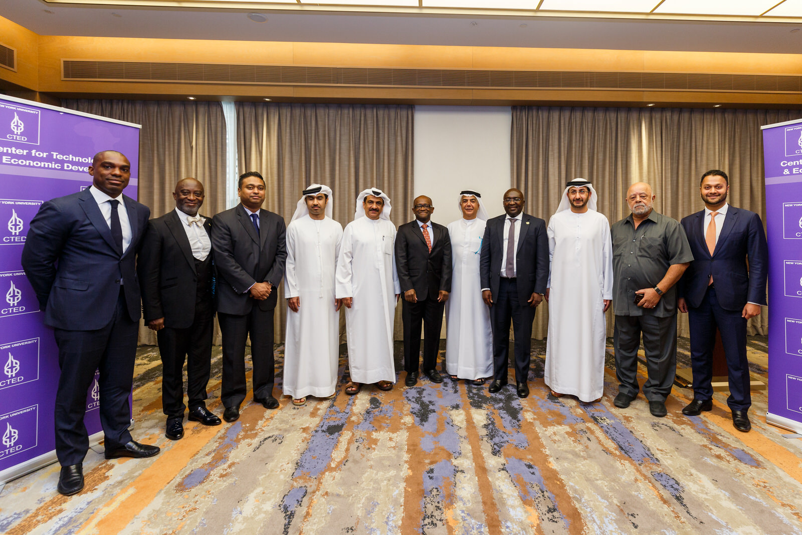 Prof. Yaw Nyarko Hosts CTED Commodities Exchange Capacity-Building Program (Abu Dhabi and Dubai, UAE)