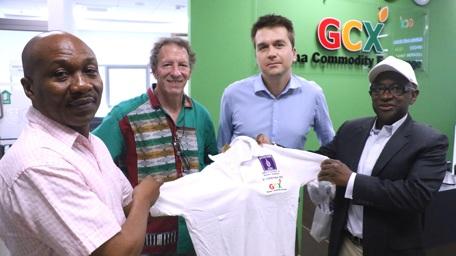 L-R: Dr. Kadri Alfah, Professor Chris Udry, our friend/supporter with a CTED/GCX deployment gift