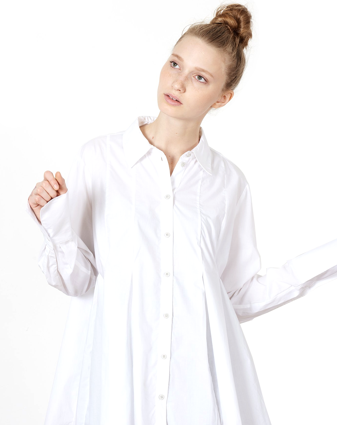 Kowtow Pages Shirt in White // Covet + Lou