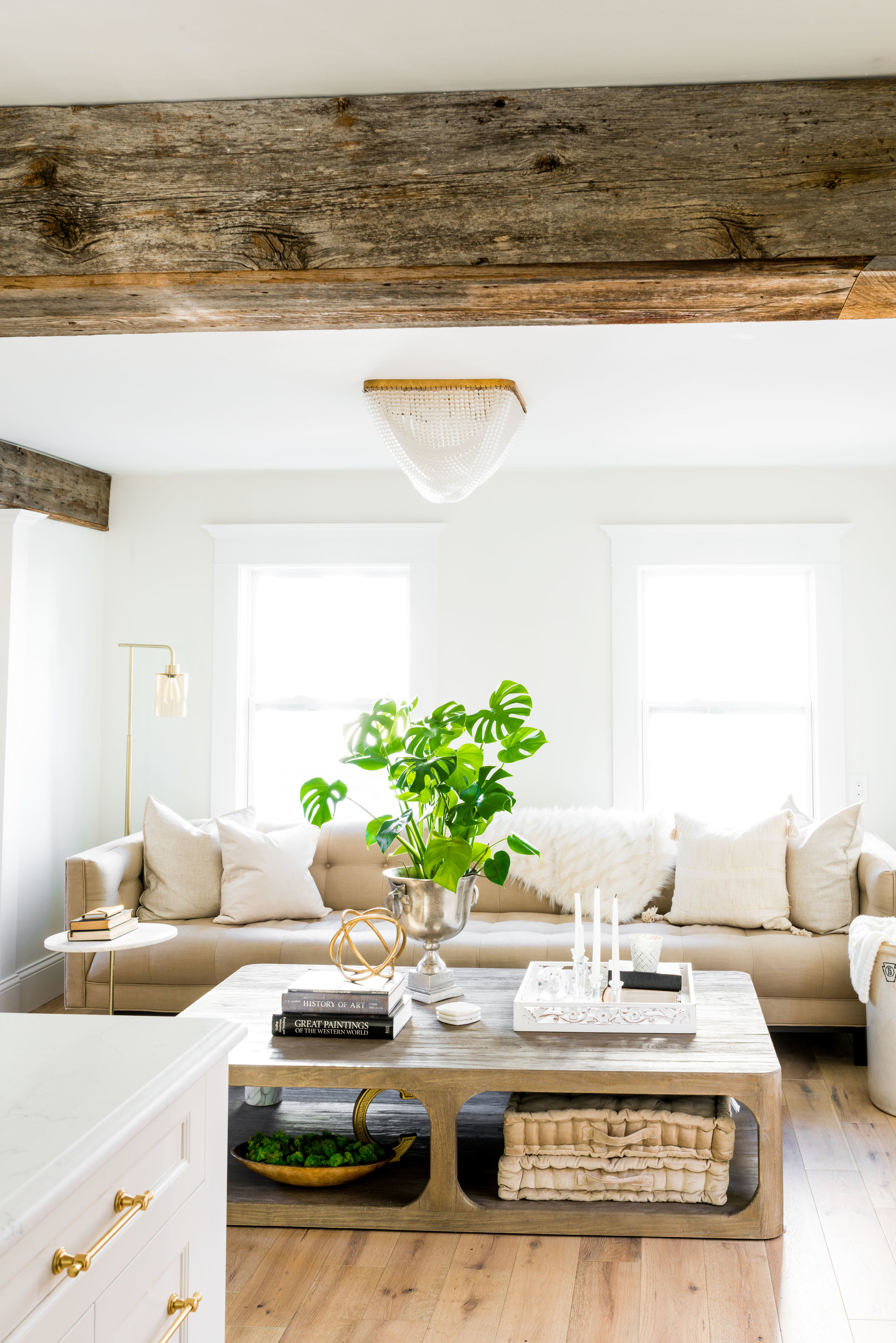 Livingroom light fixture was found on  Horchow . Design:  Molly Pidgeon, Principal & Interior Designer, House of Dietrich  // Photo:  Jessica Delaney