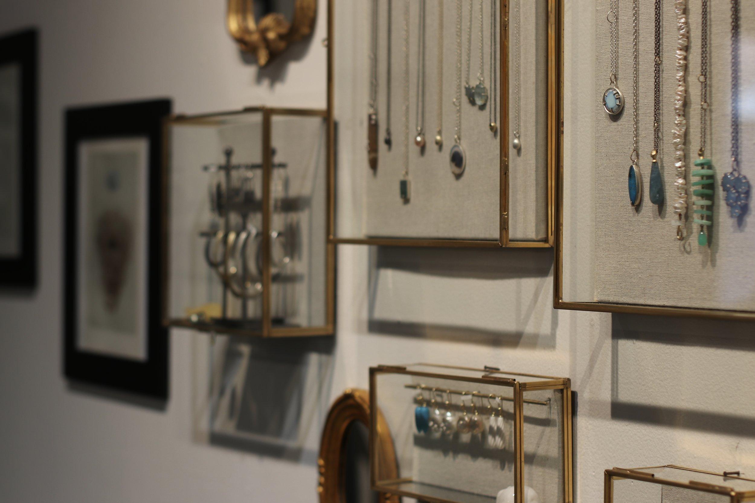 Hannah Blount Jewelry  // Photo:  Noelani Zervas