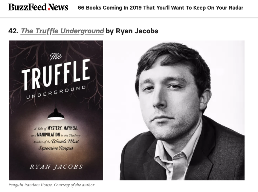 """""""Fans of weird true crime…will eat it up.""""— BuzzFeed, on its list of 2019's most anticipated books (January 4, 2019). -"""