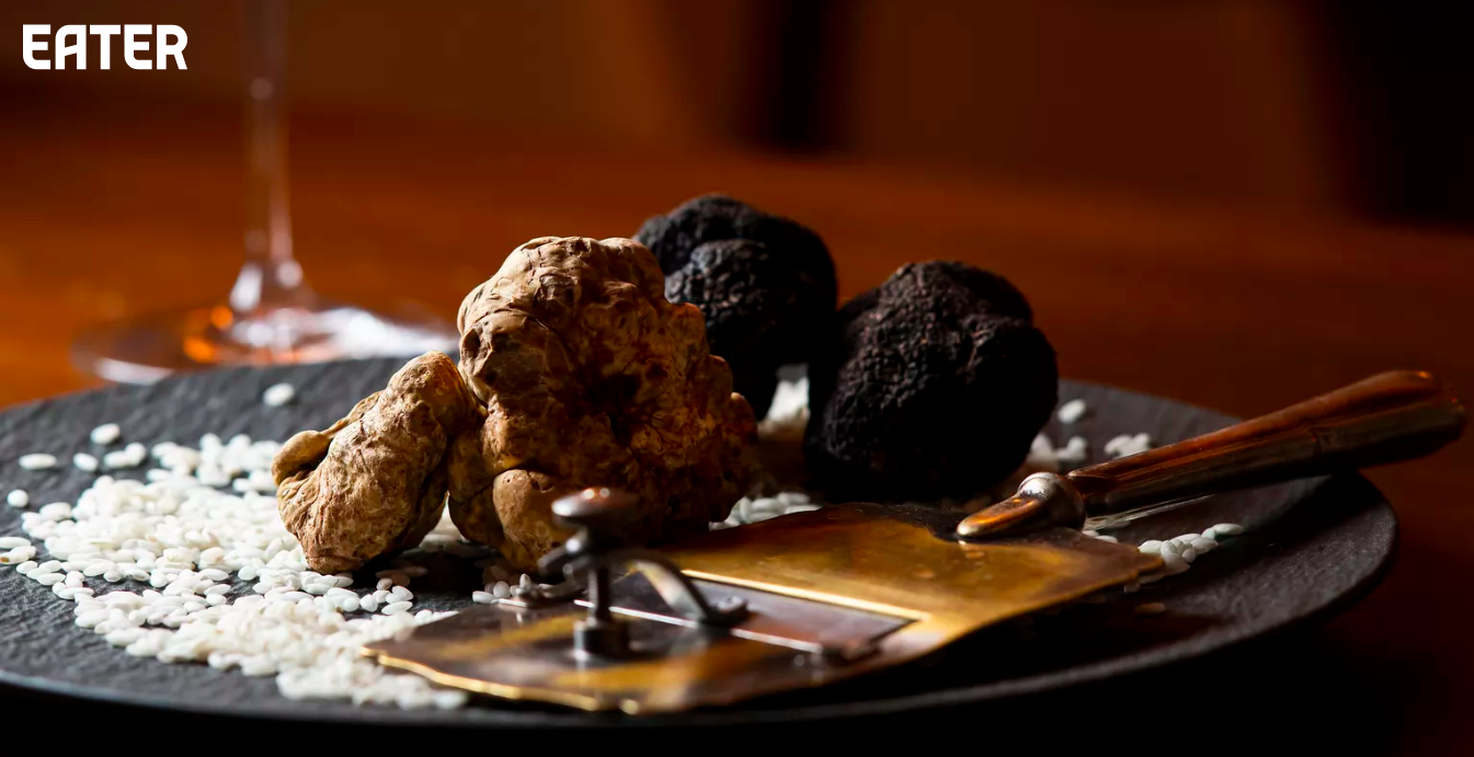 """""""Inside the Exceptionally Shady World of Truffle Fraud.""""—Eater, excerpt of Chapter Eight (May 28, 2019) -"""