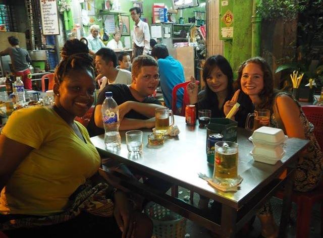 Night Market in Yangon, Myanmar - RachelTravels.com