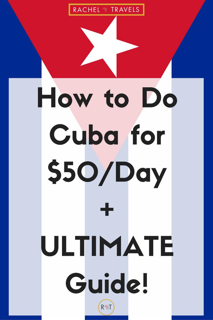 Havana, Cuba Ultimate Guide to Cuba Travel - RachelTravels.com