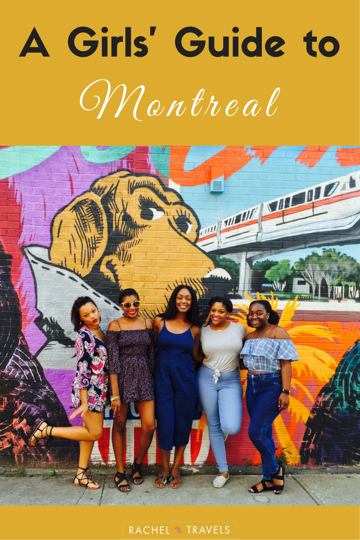Girl's Guide Girls Trip to Montreal Canada