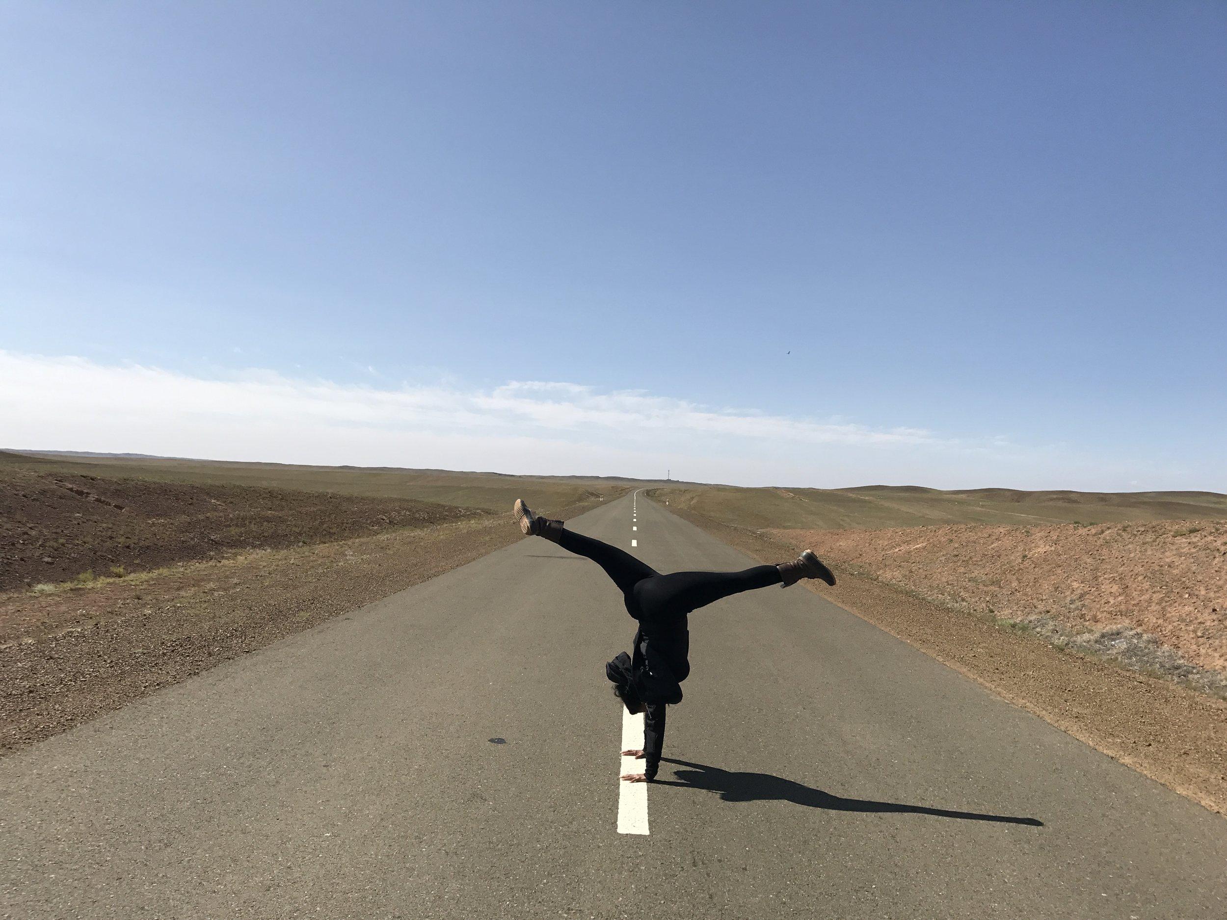 Gobi Desert Mongolia Solo Trekking Woman