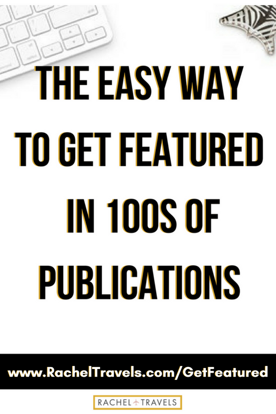 The Easy Way to Get Featured In 100s Of Publications