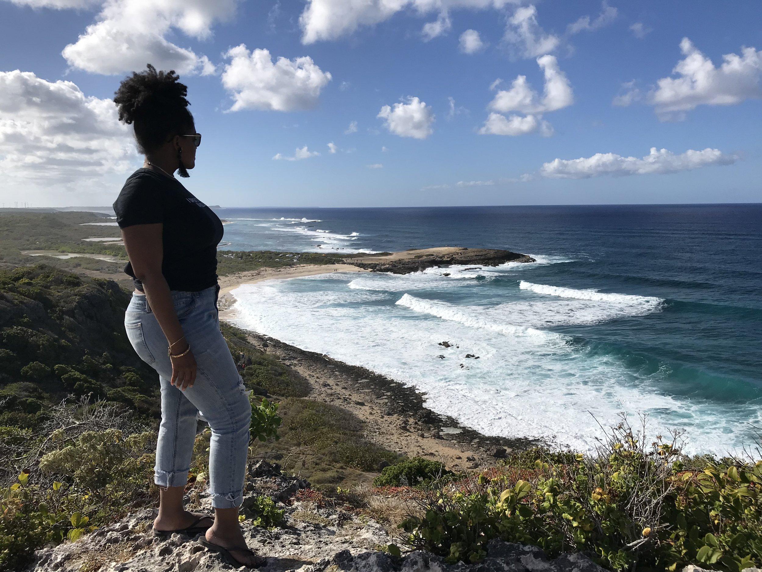 La Poine des Chateaux - Guadeloupe - RachelTravels.com