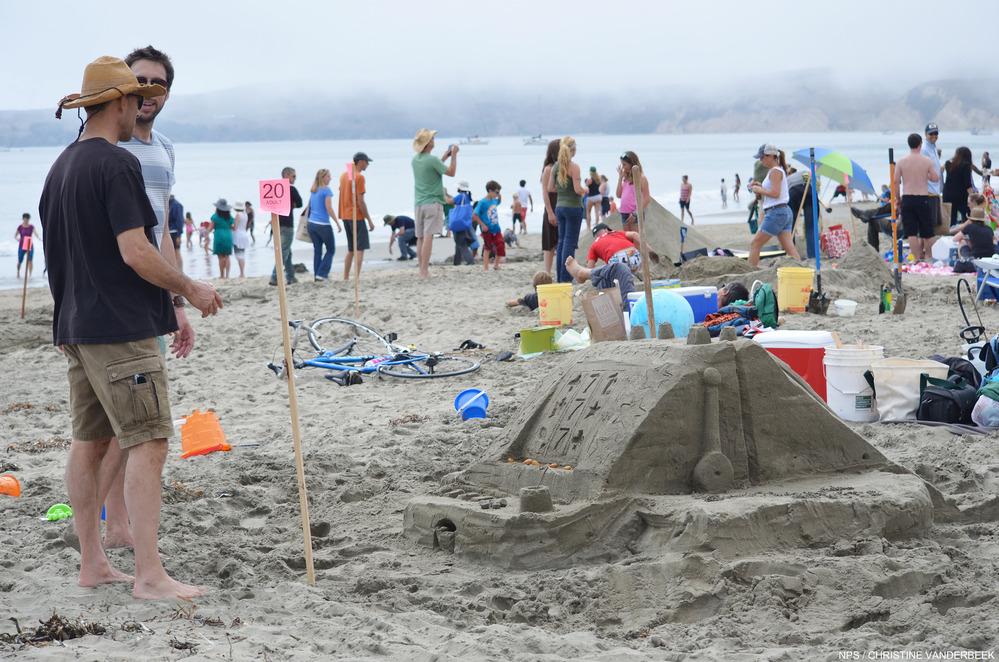 Sand Castle Building Competition