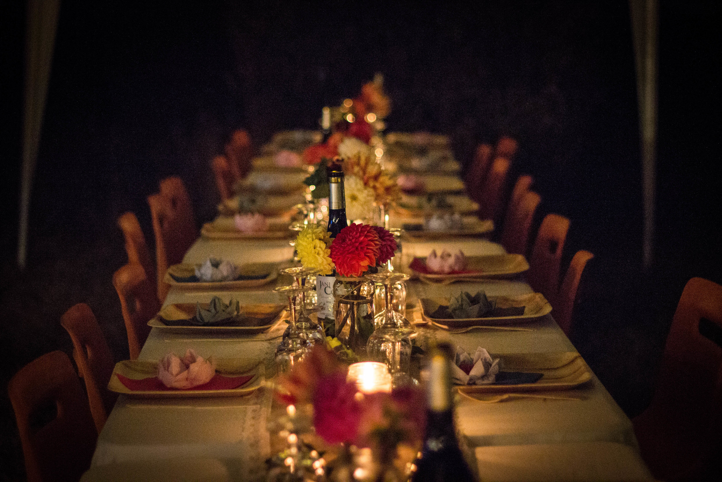 A Private Dinner Experience