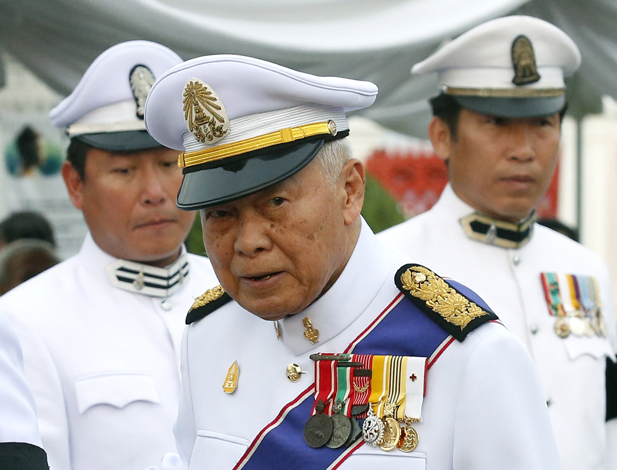 Former Prime Minister Prem Tinsulanonda of Thailand in Bangkok in 2016. As prime minister from 1980 to 1988, he often served as a proxy for the king and weathered two coup attempts.