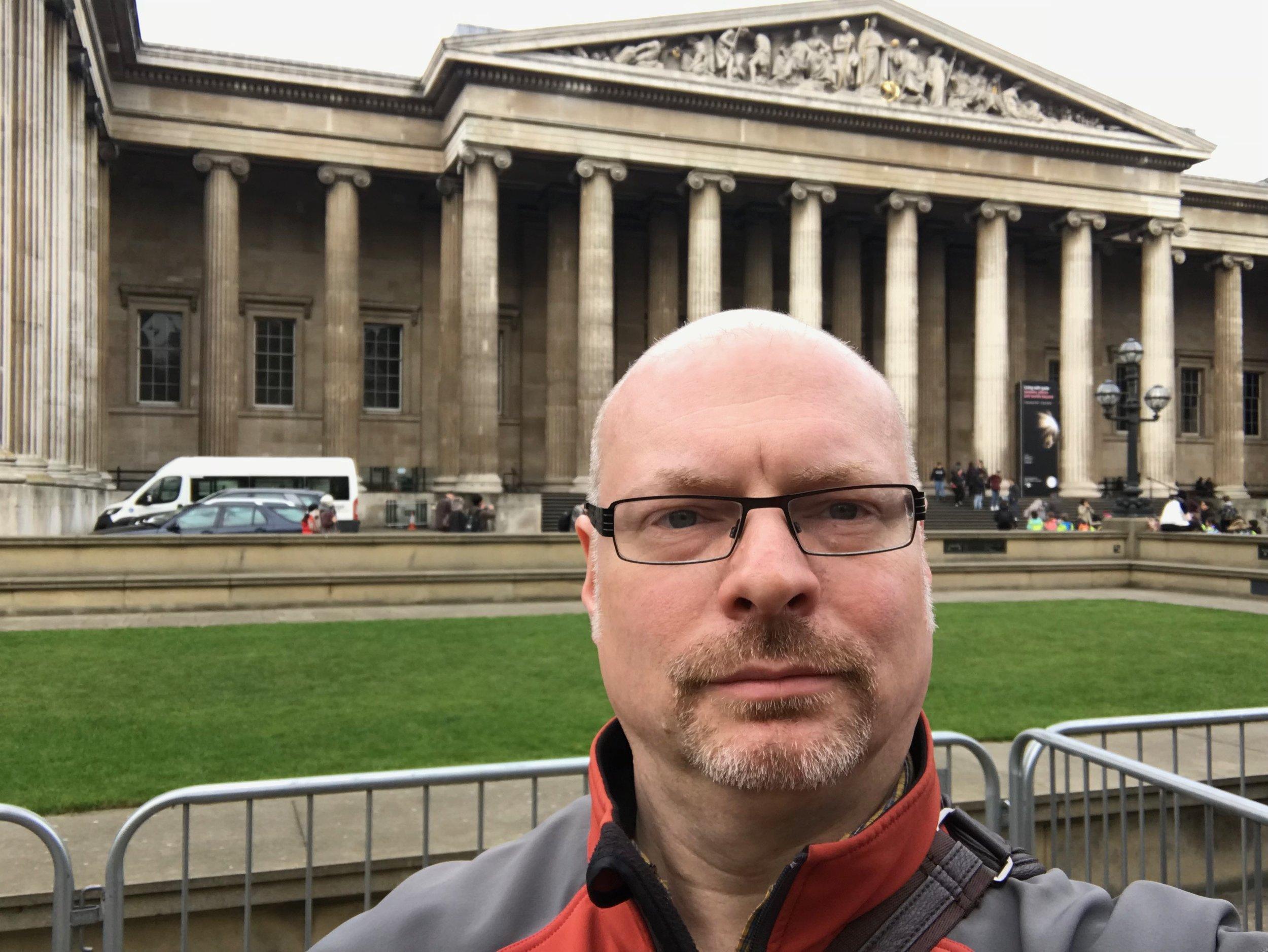 Paul at the British Museum - Paul Greene.jpg