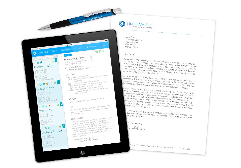 iPad App, Letterhead, and Pen