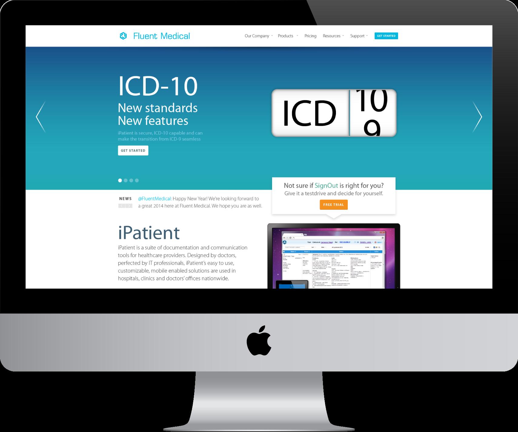Fluent Medical Website.png