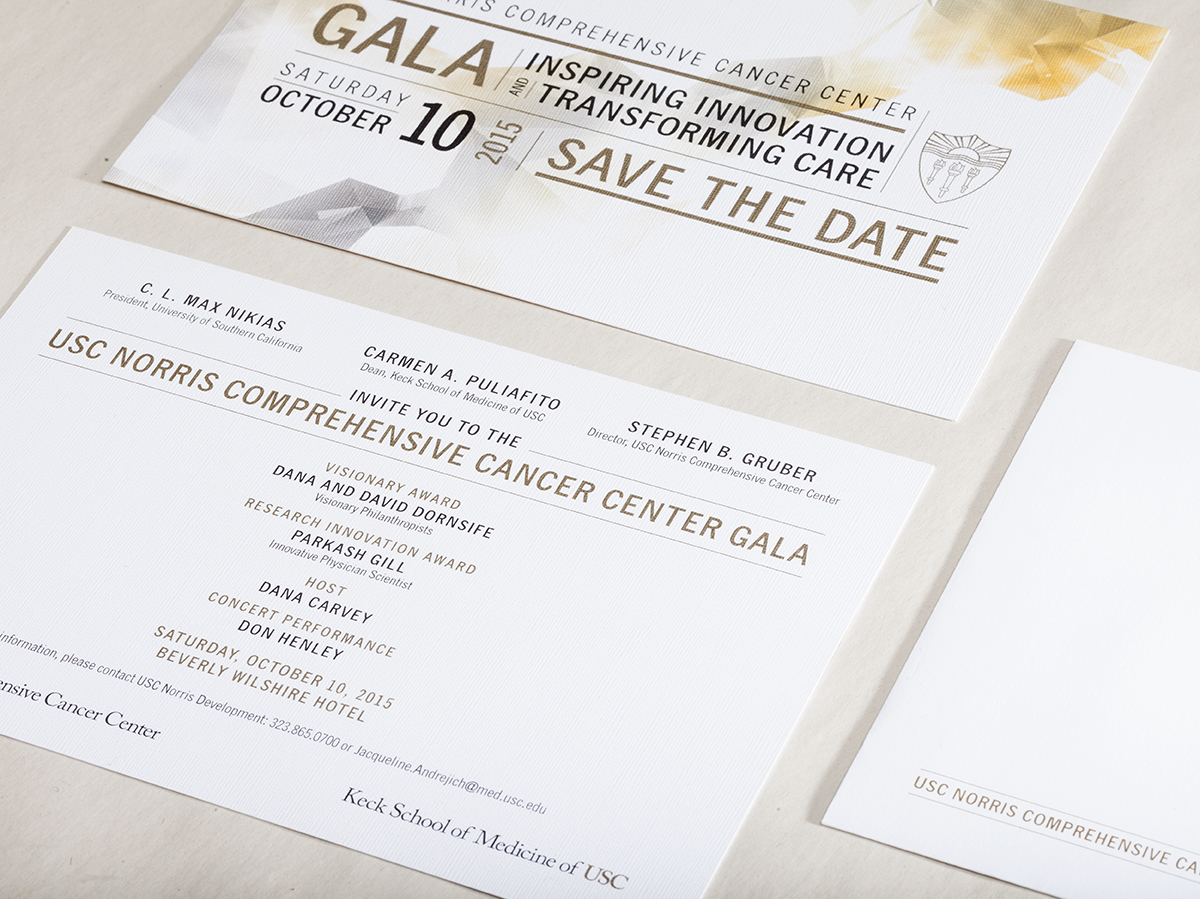 USC Norris Comprehensive Cancer Center Invitation