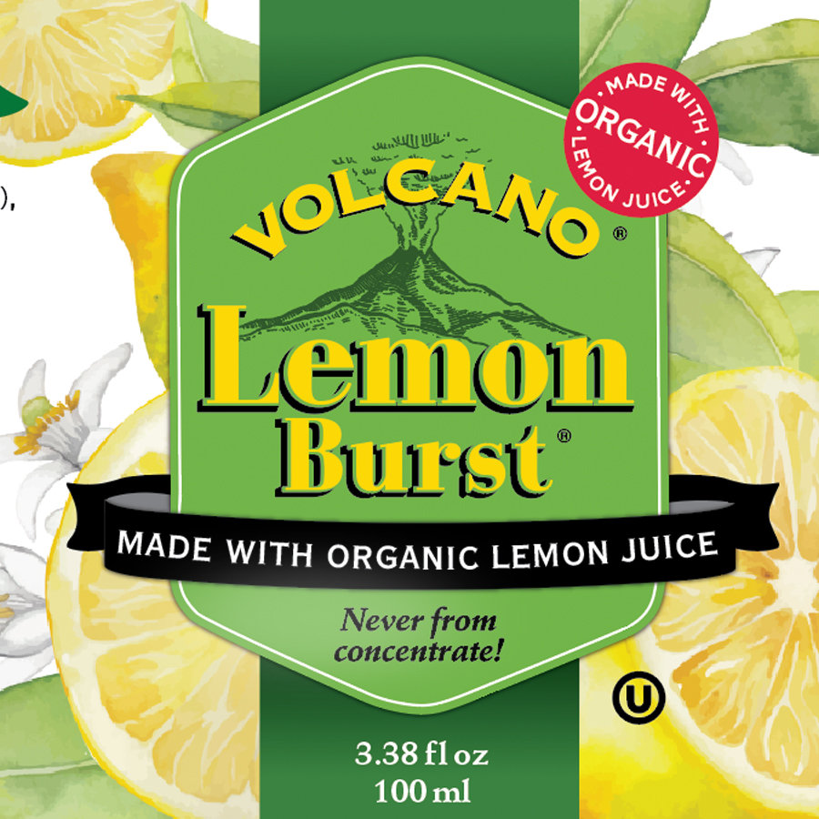 Volcano Lemon Burst