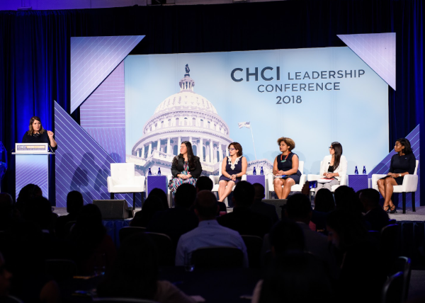 CHCI Leadership Conference Stage Backdrop & Podium