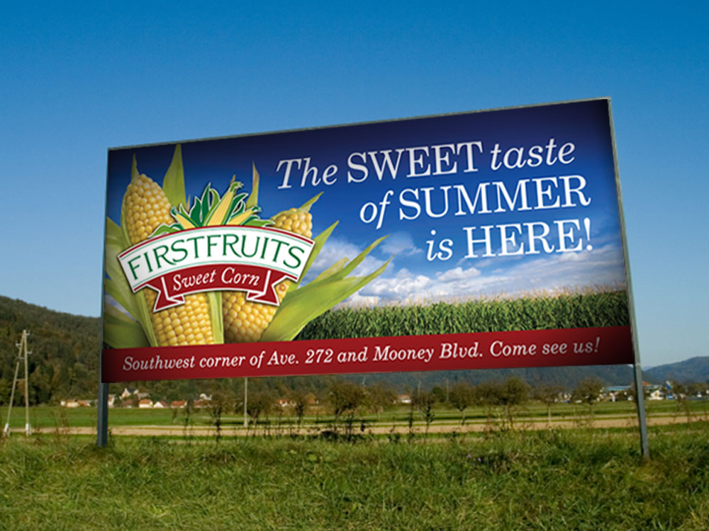 FirstFruits Signage