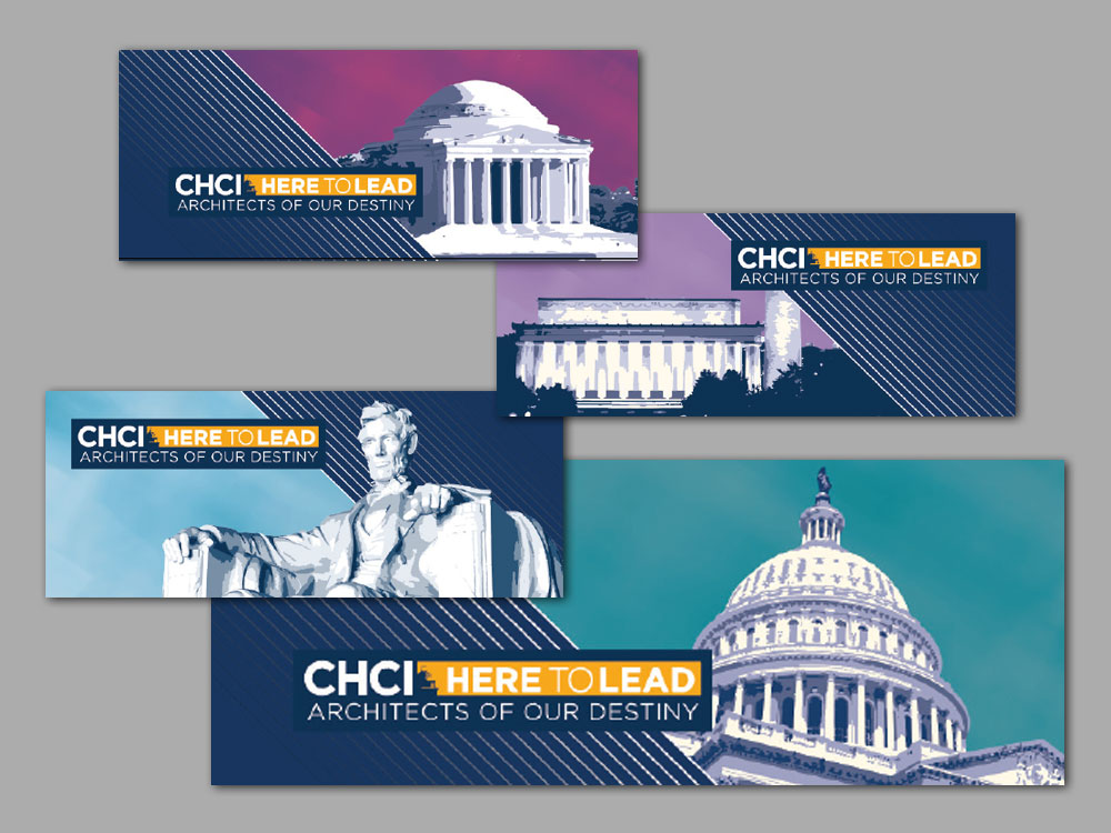 CHCI HHM Leadership Conference Event Signage