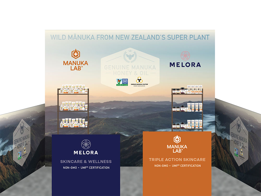 New Zealand Manuka Group Tradebooth