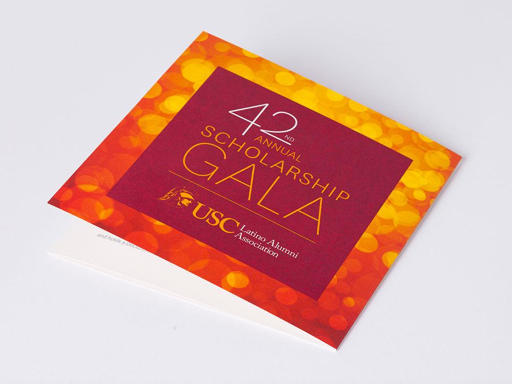 USC Latino Alumni Association Gala Invitation