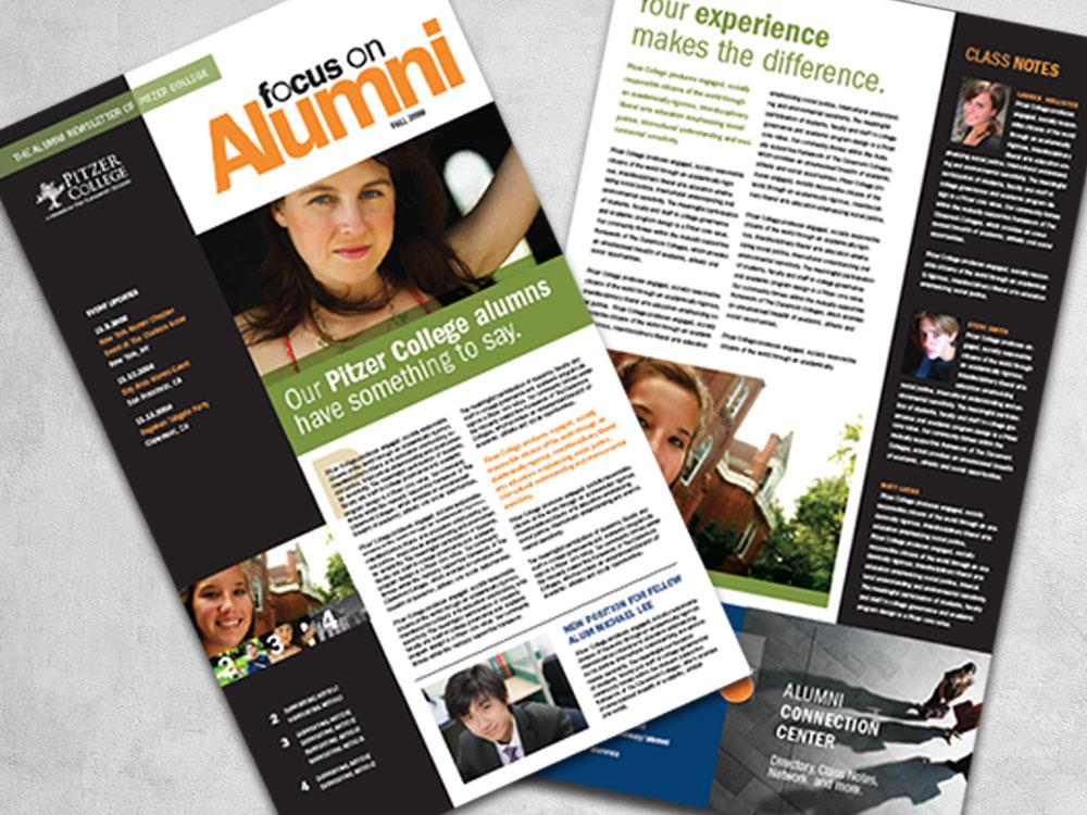 Pitzer College Alumni Newsletter