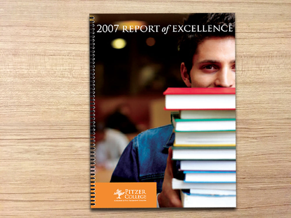 Pitzer College Report of Excellence Brochure