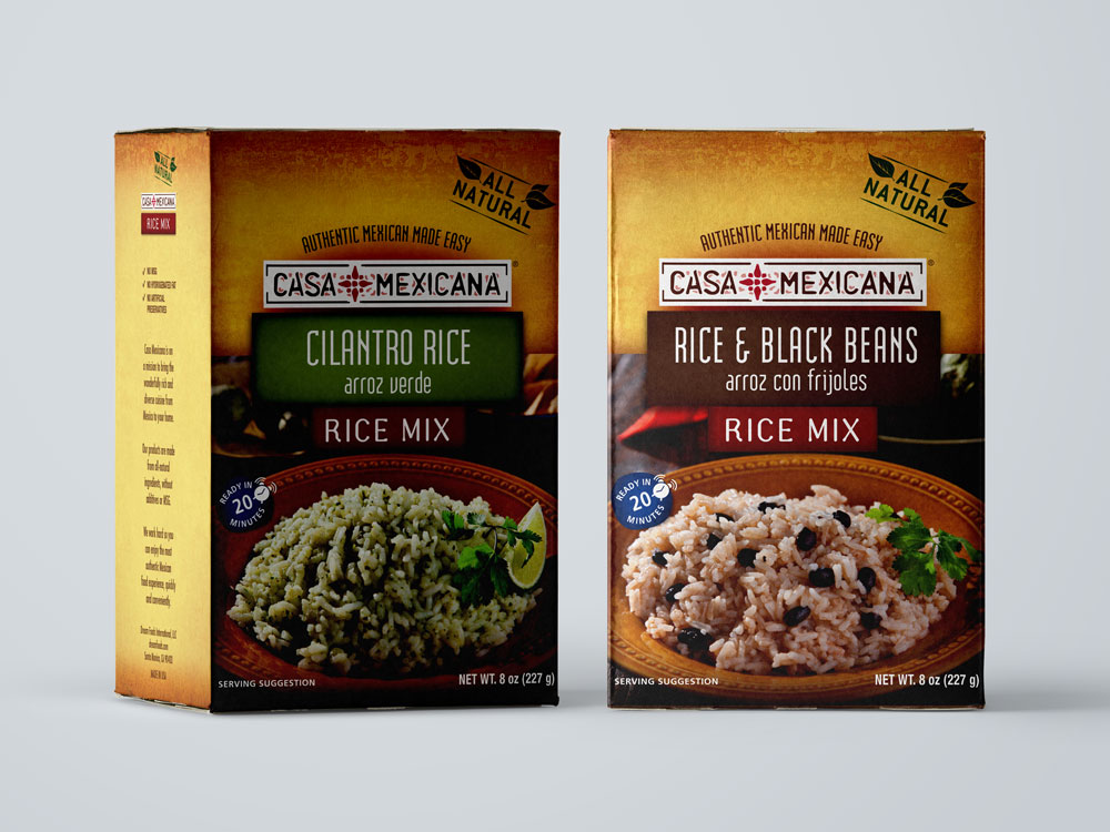 Casa Mexicana Rice Mixes