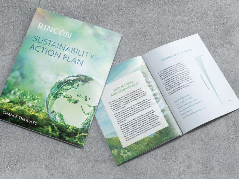Rincon Sustainability Action Plan Brochure