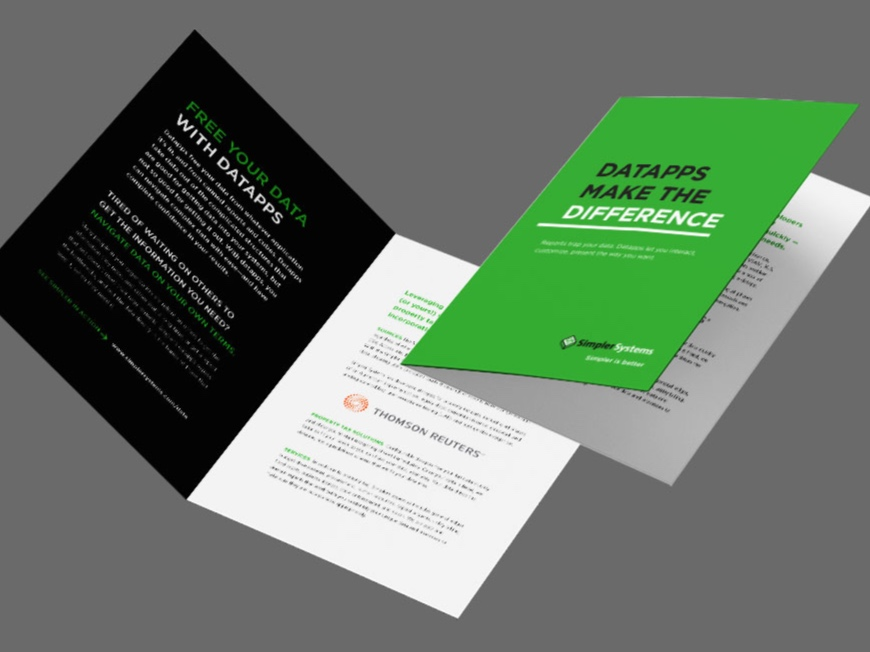 Simpler Systems Datapps Brochure