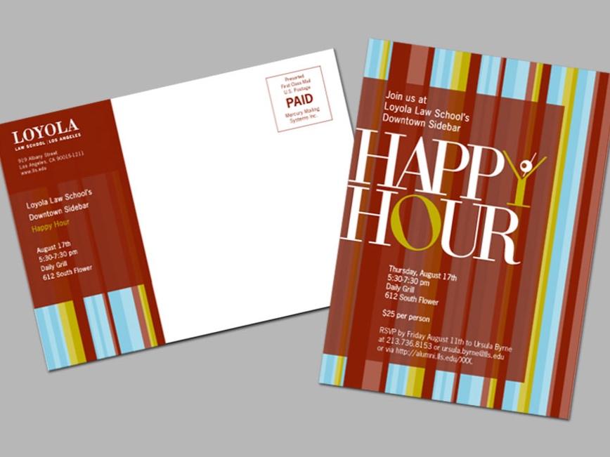 Loyola Law School Happy Hour Invite