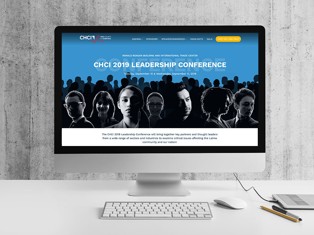 CHCI 2019 Leadership Conference Microsite