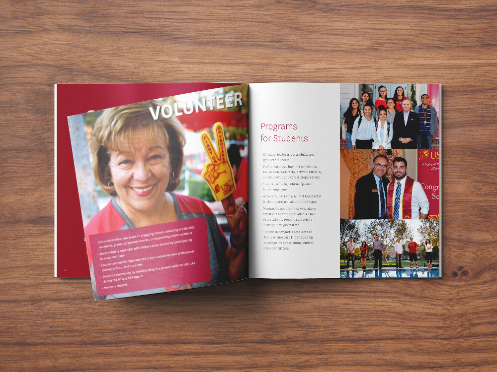 USC Latino Alumni Association General Brochure