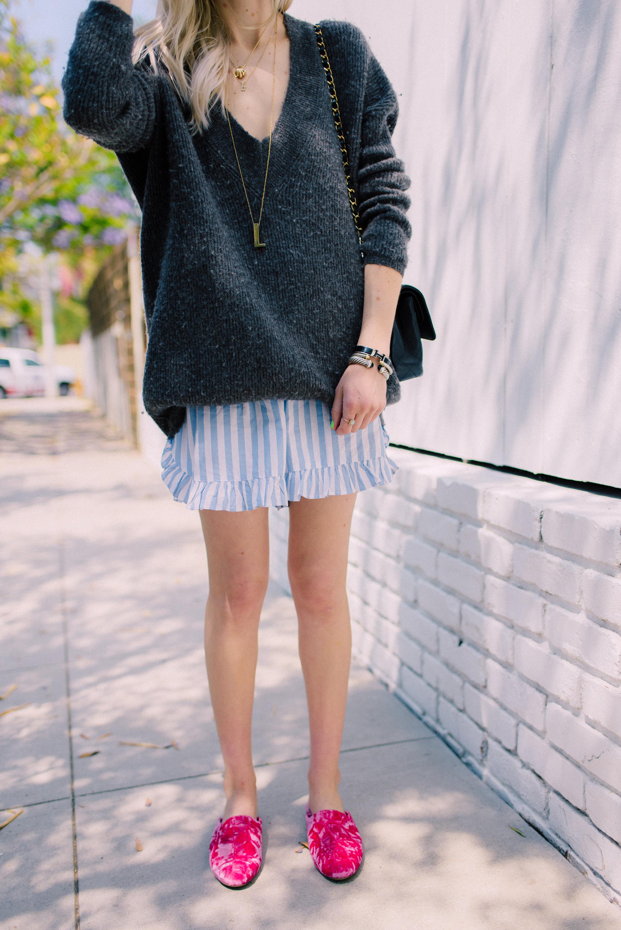 Ganni Summer shorts