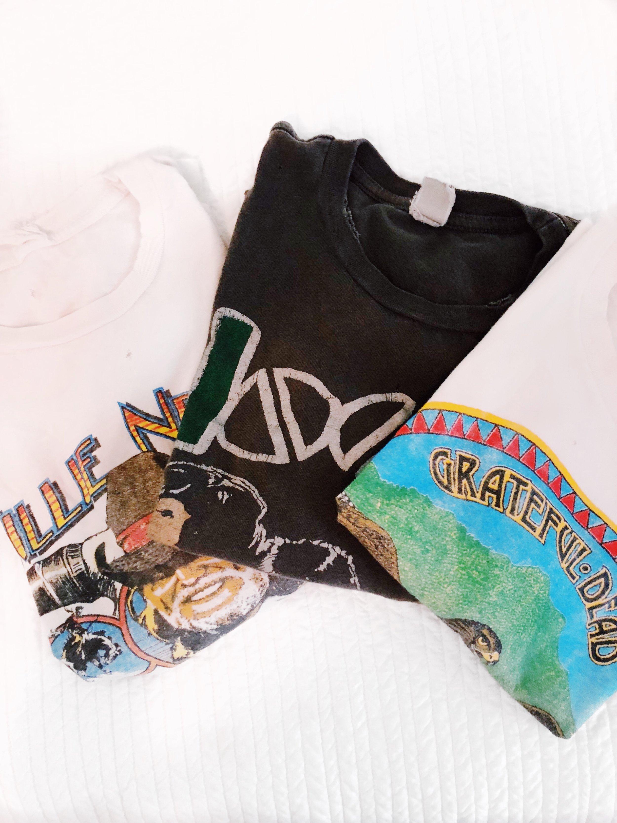 vintage band tees, Grateful Dead