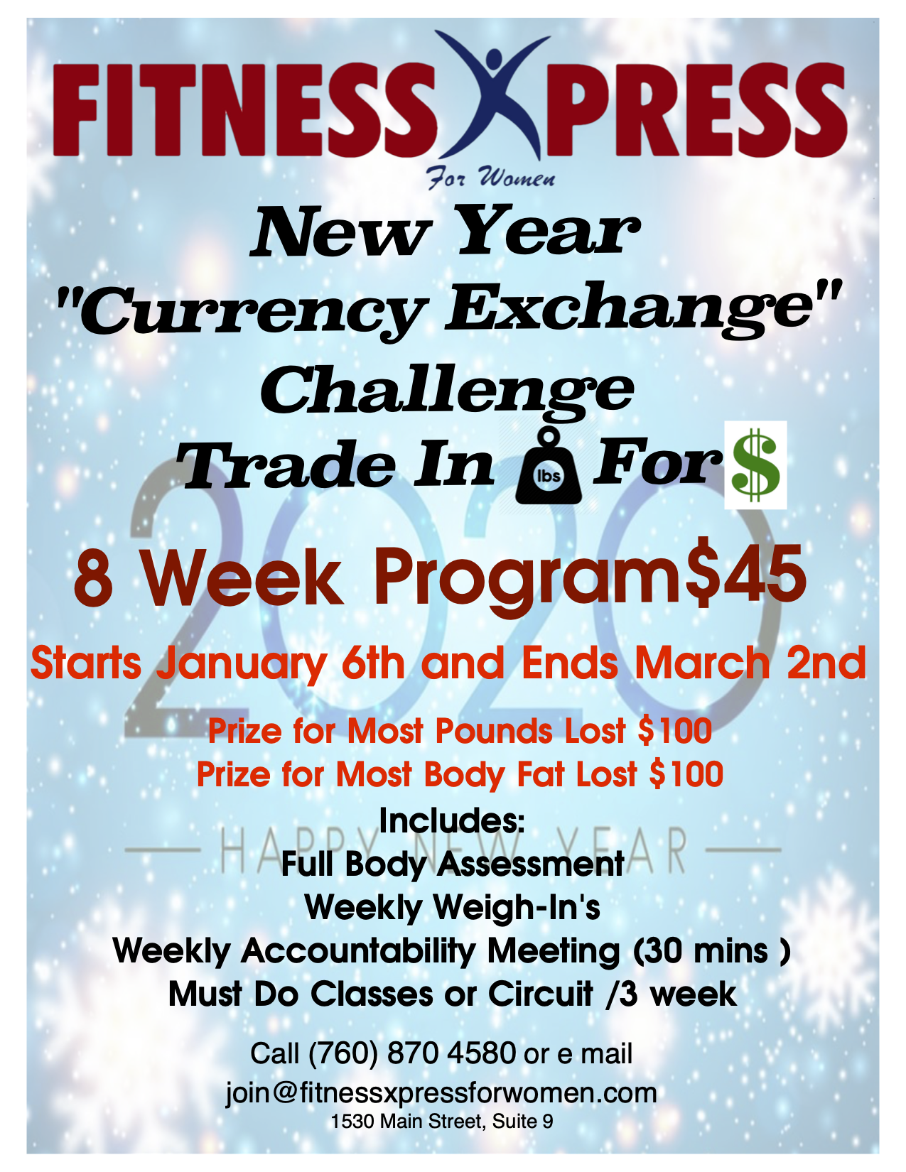 Currency Exchange Fitness Xpress For