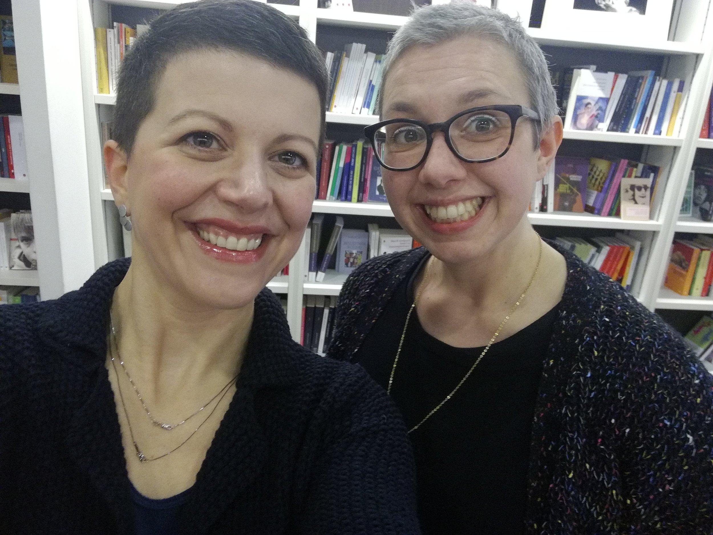 Ilaria Durigon e Laura Capuzzo della Libreria Lìbrati di Padova