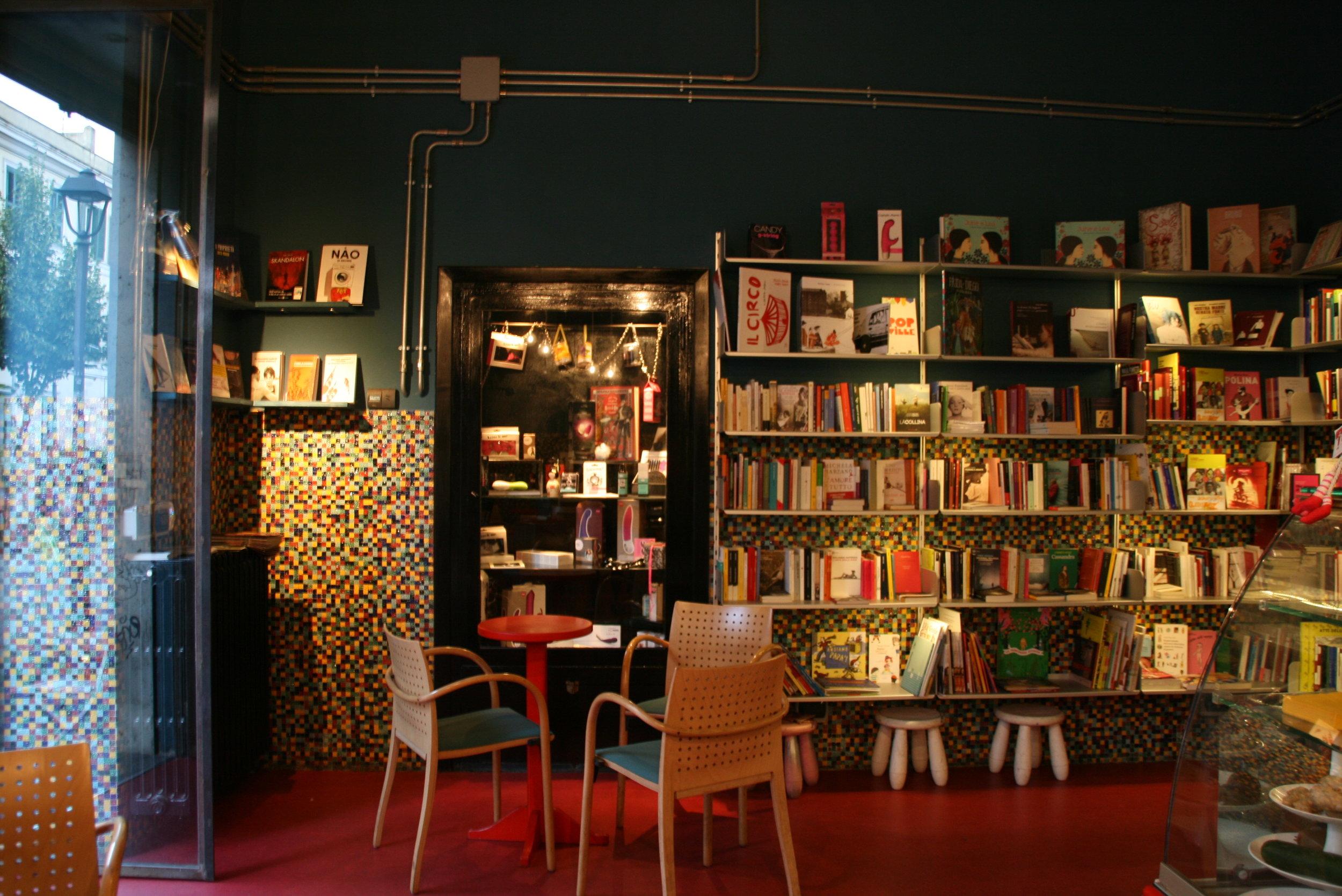 Libreria Tuba, Roma