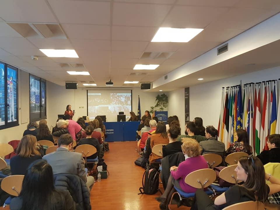 Il patto per le donne per il clima e l'ambiente  - 18 Marzo, Ufficio del Parlamento europeo, Milan