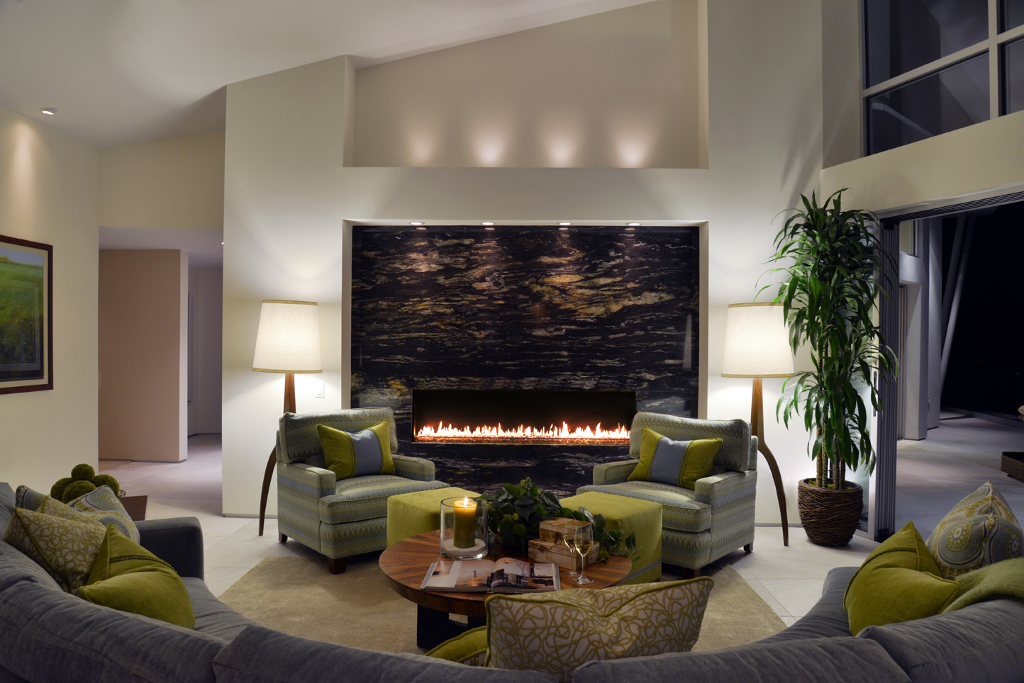 Designed by Kathy Ann Abell Interiors