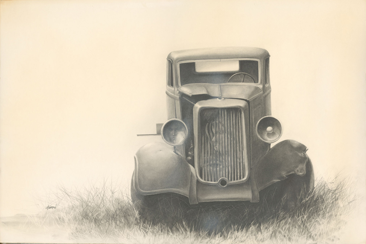 Turpin - Old Truck with Faces.jpg