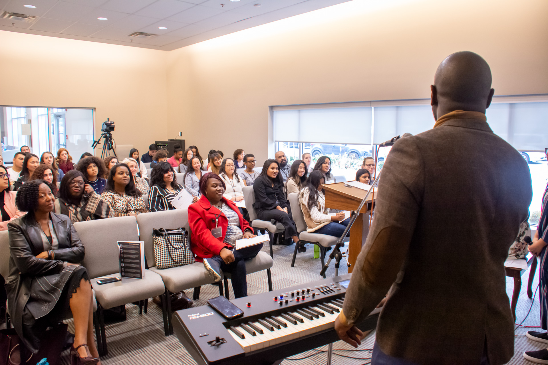 Session 1 - Vocal trainingIntermediate to Advanced KeysDrums In Worship 101Lead Guitar: Refine Your Skill & SoundsChurch Sound Technician Part 1