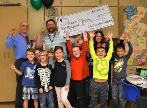 "$1000 Winner ~Frank Meyers ""3D Printing in 2nd Grade""~Willow Lane Elementary"