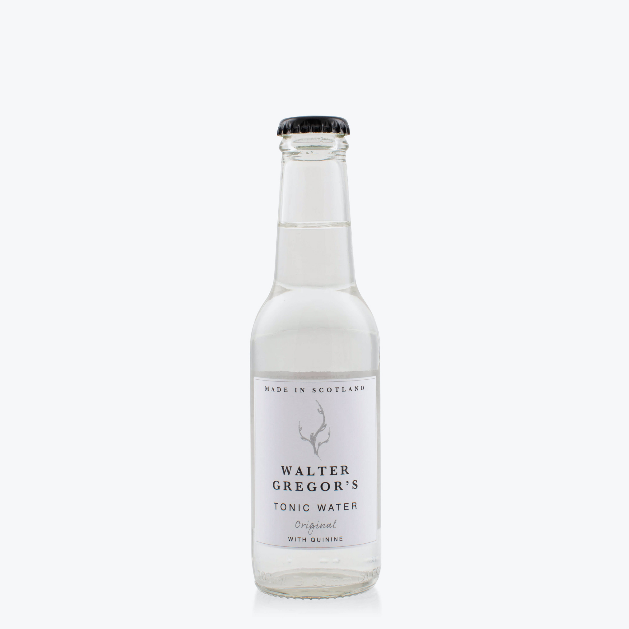 Walter Gregor's Scottish Tonic Water - Made at the Summer House Drinks farm in the historic parish of Pitsligo, Scotland, this tonic carries a distinctively light carbonation and half the sugar content of most tonic.