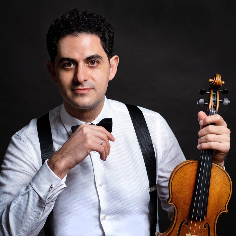 Arnaud Sussmann, violinist