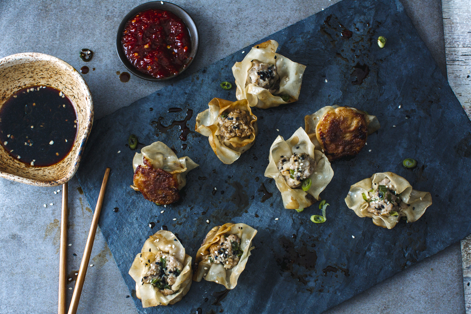 Shumai Ginger Scallion