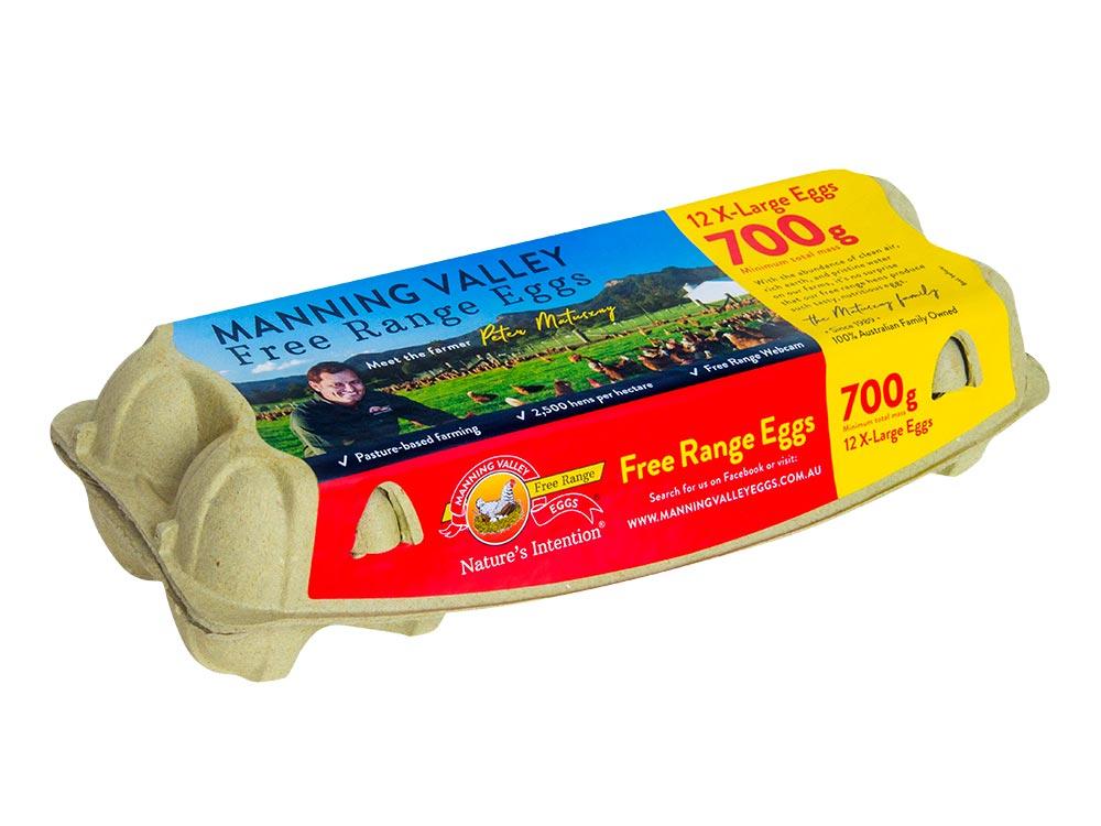 X-Large 700g 12 egg pack