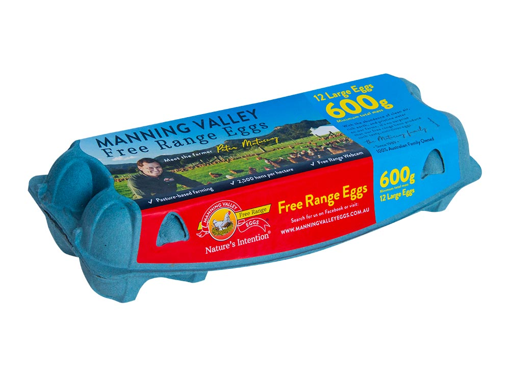 Large 600g 12 egg pack