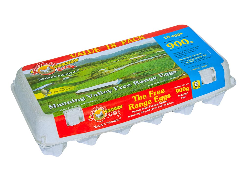 Family Value 900g 18 egg pack